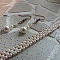Des perles contre la pluie.