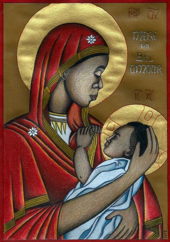 ND du Bel Amour (Vierge Africaine)