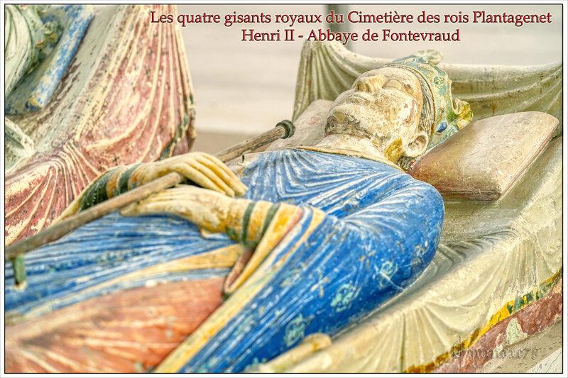 Henri II Réclamations de l'Angleterre des statues des rois Plantagenet - abbaye de Fontevraud en 1817 et 1819 (6)