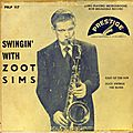Zoot Sims - 1951 - Swinging with Zoot Sims (Prestige)