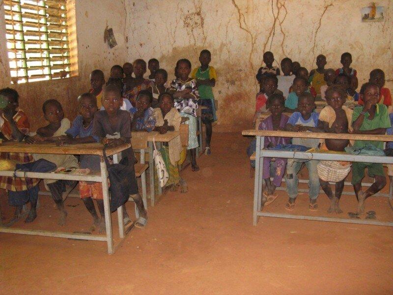 Souryala : La classe des CP1/CP2 en 2009