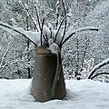 Il a neige sur le pont de montvert...