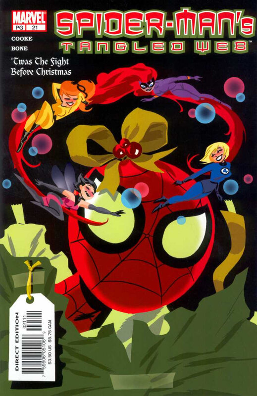 tangled web spiderman 21