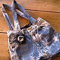 Un sac en jean de récup