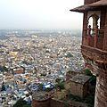 Jodhpur - la ville bleue du fort mehrangarh