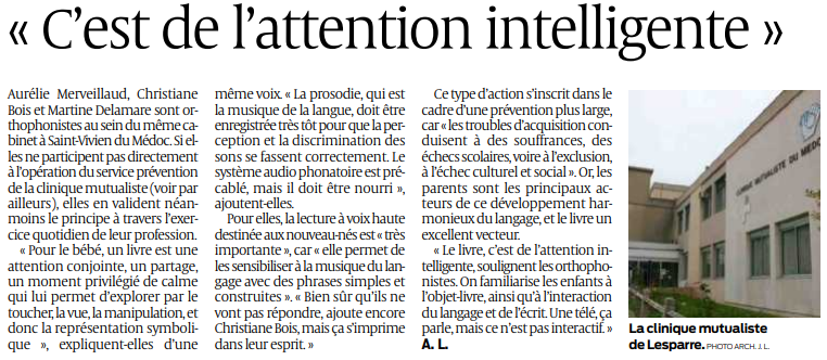 2019 05 29 SO C'est de l'attention intelligente