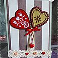 carte home made 29 st valentin Amour