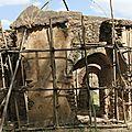 Ecurie chateau à Gondar