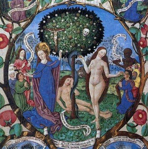 Arbre de vie et de mort, Berthold Furtmayr, 1481