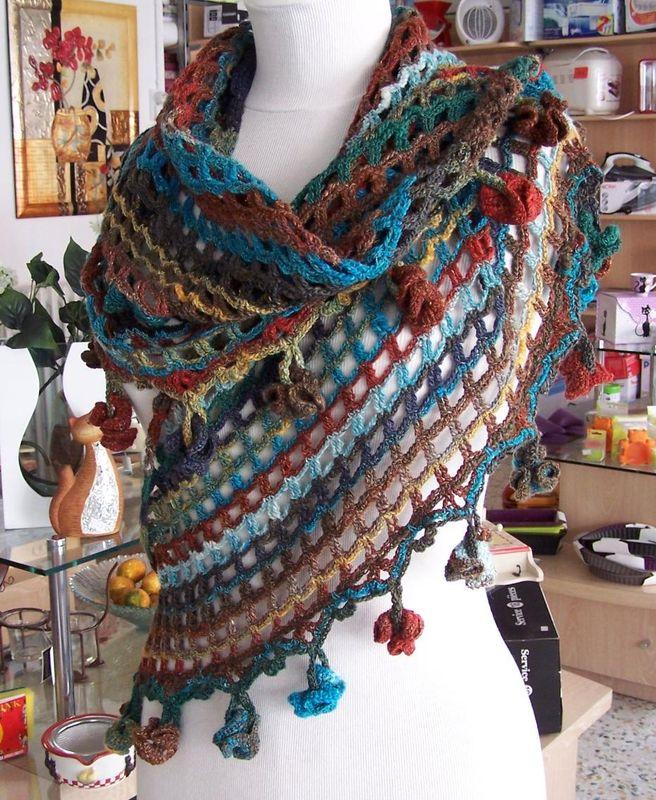 chale crochet 4