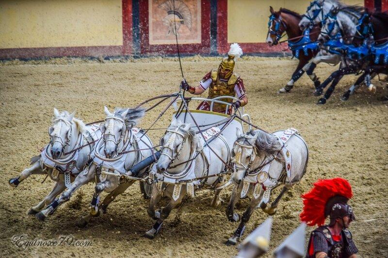 puy du fou Les courses de chars des Romains (5)