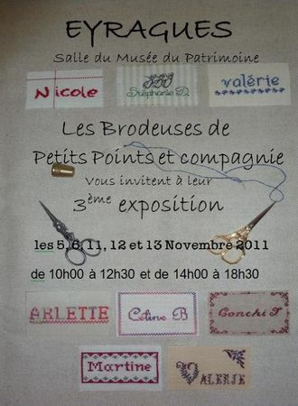 affiche expo eyragues