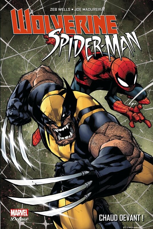 marvel deluxe wolverine spiderman chaud devant