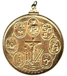 Amulette vaudou des 7 Puissances Africaines