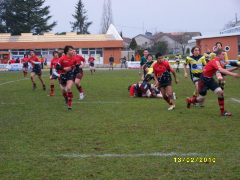 13 février, Cadets 1 contre Nérac