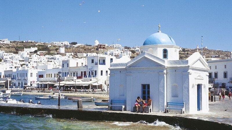 Mykonos Port de pêche Photo Internet