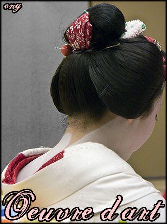 Le chignon traditionnel japonais , O.N.G. , Extrême,orient(é)