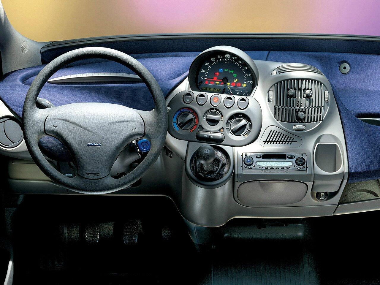 FIAT MULTIPLA / 1998-2010 - zoom auto blog