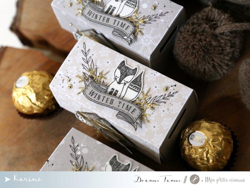 Boîtes chocolats 2