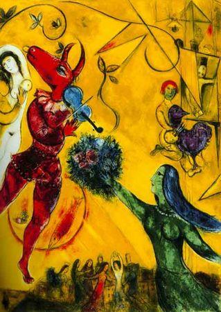 CHAGALL Marc - La Danse (1950)