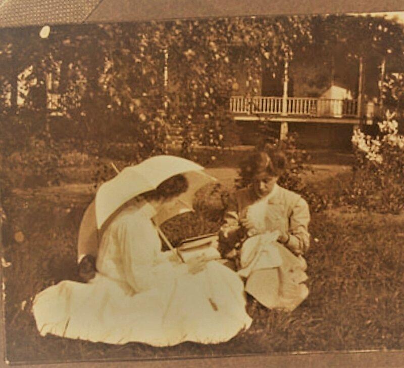 2 femmes photo