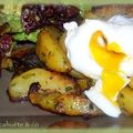Pommes de terre rôties au chorizo