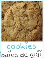cookies chocolat - baies de goji - index