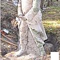 Denkmal gardelegen 1914 - monument aux morts du camp de gardelegen