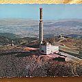 Mont Pilat - tour de télévision datée 1964