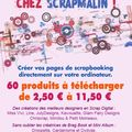Le scrap digital arrive chez scrapmalin