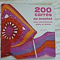 200 carrés au crochet de Jan Eaton