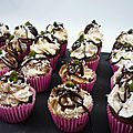 Minis cupcakes façon bounty