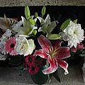 Un bouquet juste comme ça
