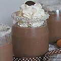 Crèmes au chocolat... rien que pour les gourmands *