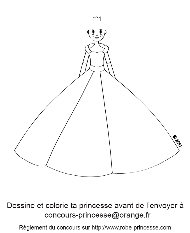 Concours de robes de princesse timol on - Dessin de robe de princesse ...