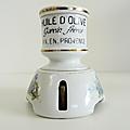 Collection ... ancienne sonnette de table garcin frères * huile d'olive