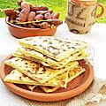 Khesra rakhsis (galette algérienne)