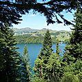 Lac Pavin à coeur ouvert