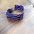 Bracelets en perles japonaises