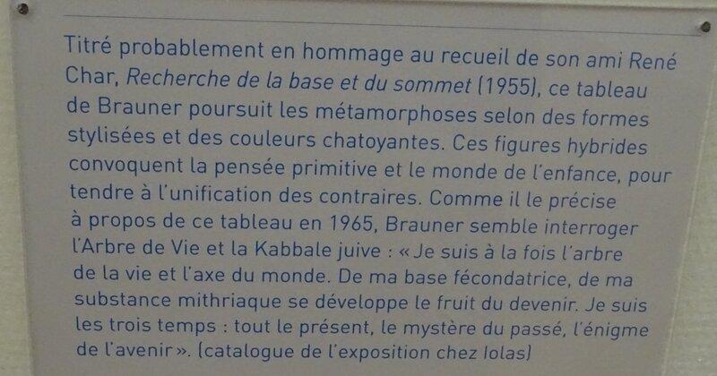 Victor Brauner Beaubourg
