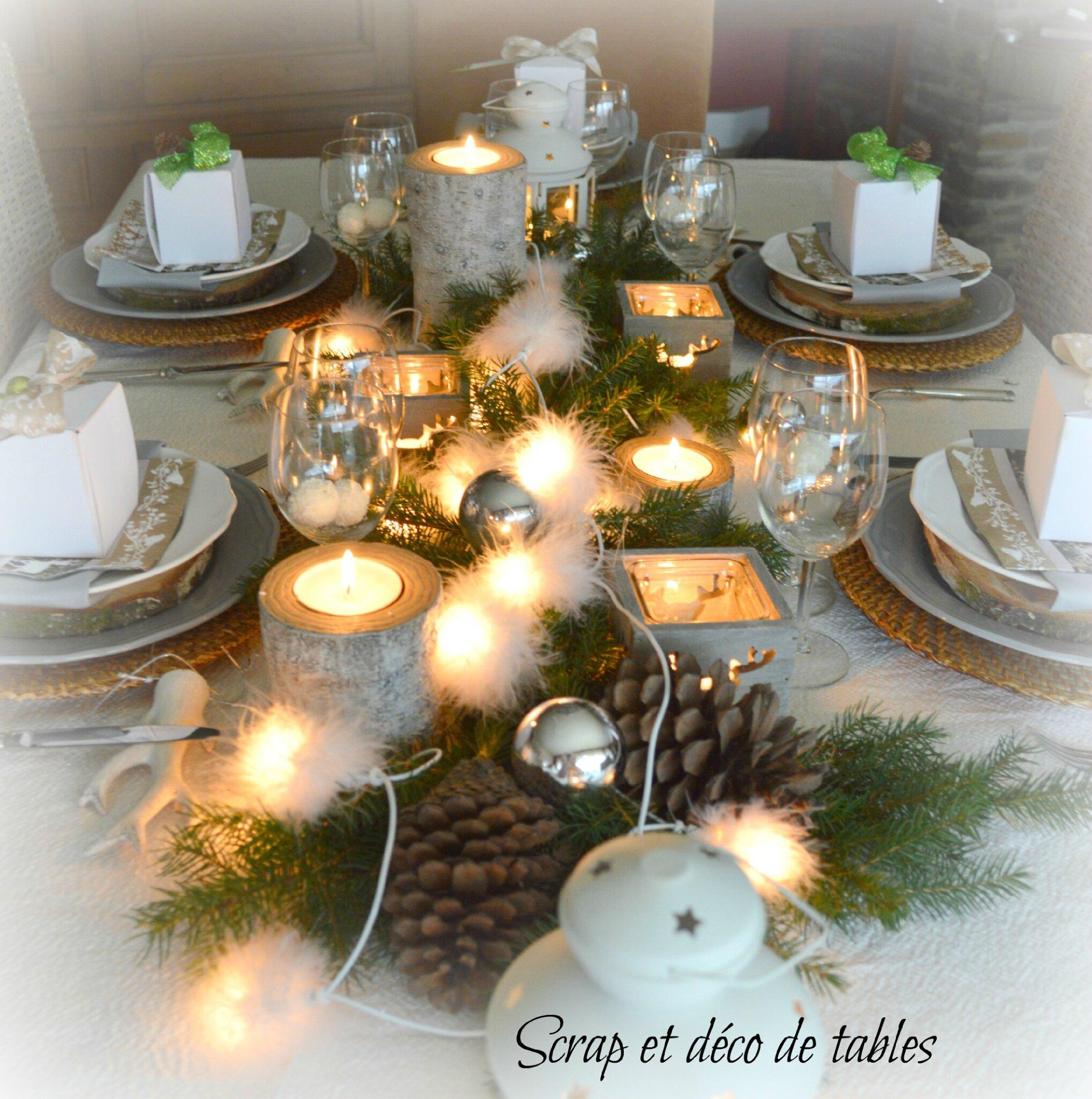 Deco de tables no l 2014 th me nature scrap et d co de tables - Deco de table theme nature ...