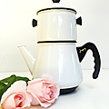 Vintage ... ancienne cafetiere japy * email