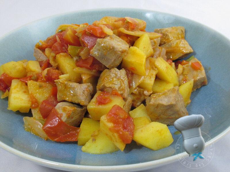 Marmitako de thon frais