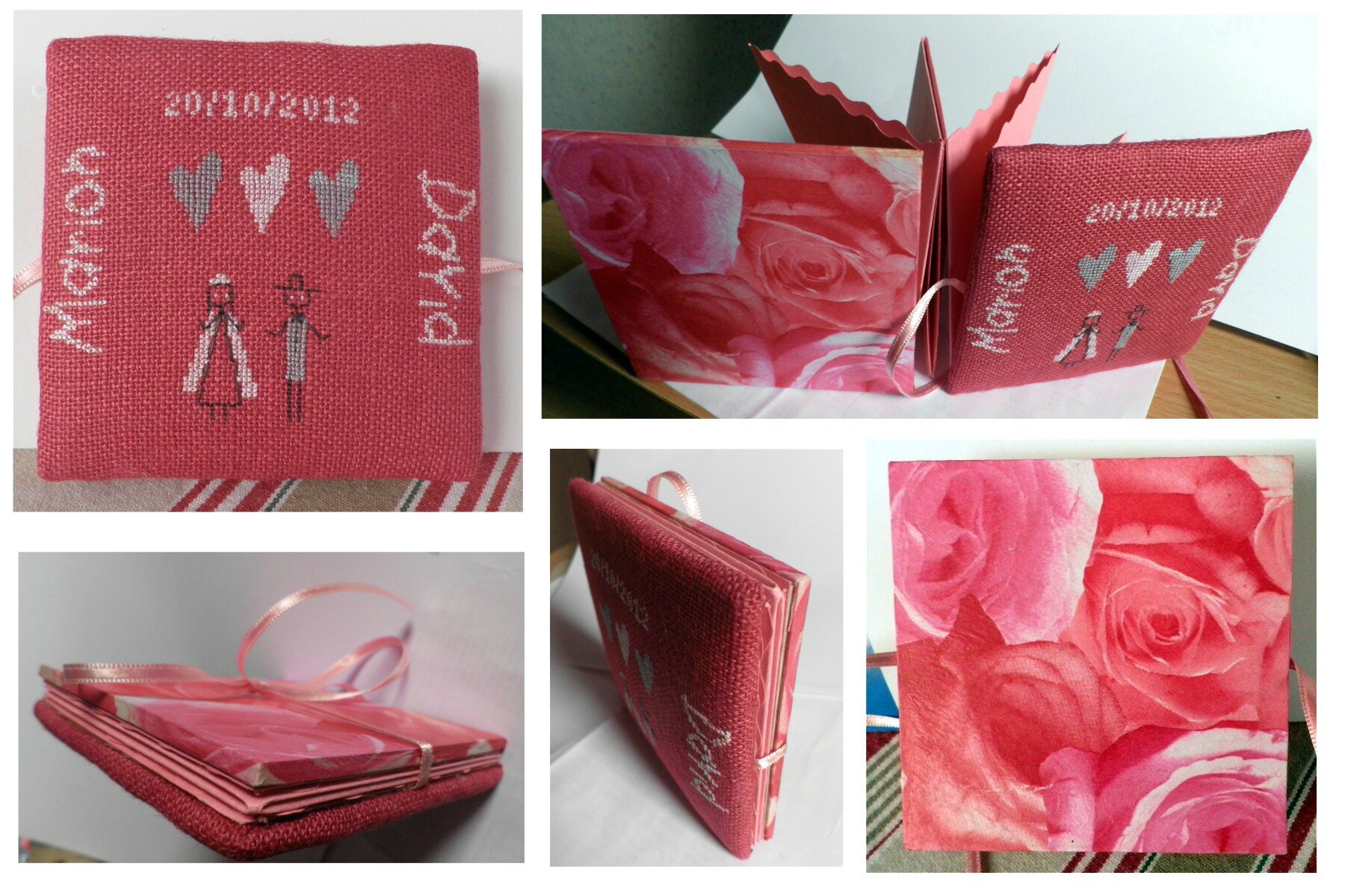 fold out mariage lili points