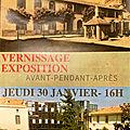 CLOS DES ACACIAS 30 janvier 2020 Vernissage EXPO