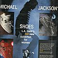 La gear, michael jackson's shoes - publicité, 1990