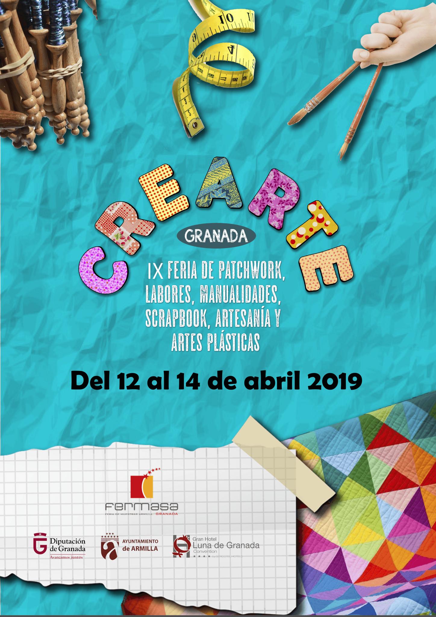 « fait à main » Feria de Muestras d'Armilla 12-14 Avril 2019