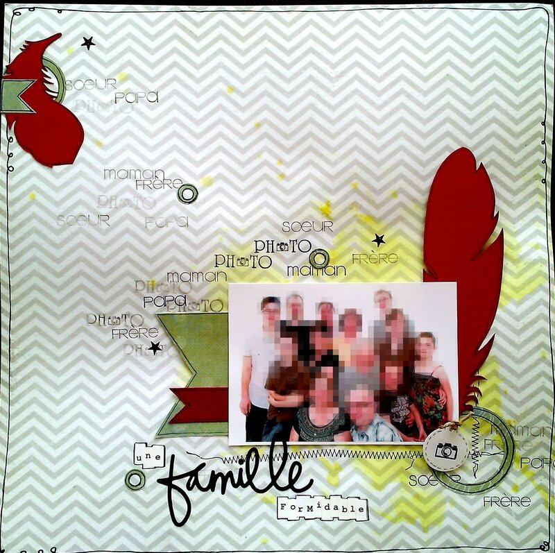 15 page famille