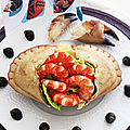 Plateau de fruits de mer la perle de marie-jo, bouillon de crabe à la tokyoïte et beurre de crabe