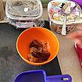 Aubergines et poivrons au miso